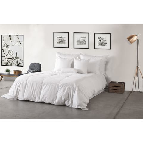 Eco-Friendly 600 Fill Power Lightweight White Down Hypodown Comforter