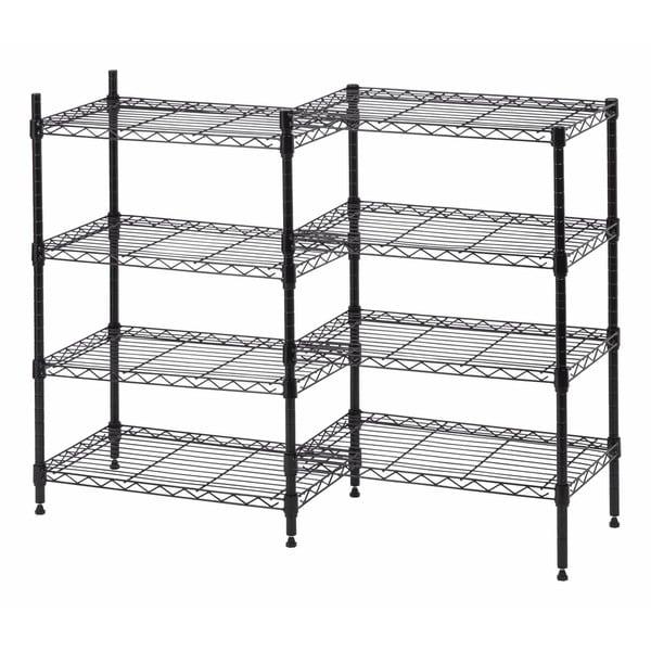 Iris 8-shelf Metal Rack Unit