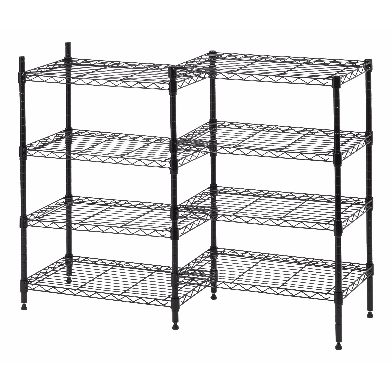 IRIS 8-shelf Metal Rack Unit (Black)