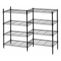 Iris 8-shelf Metal Rack Unit