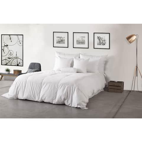 Eco-Friendly 600 Fill Power Warm White Down Hypodown Comforter