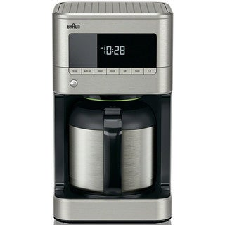 Braun KF7175 Brew Sense Thermal Drip Coffee Maker, Stainless Steel
