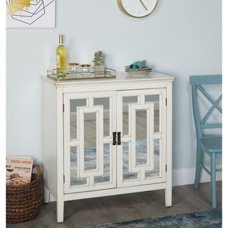Simple Living Devon Mirrored Cabinet