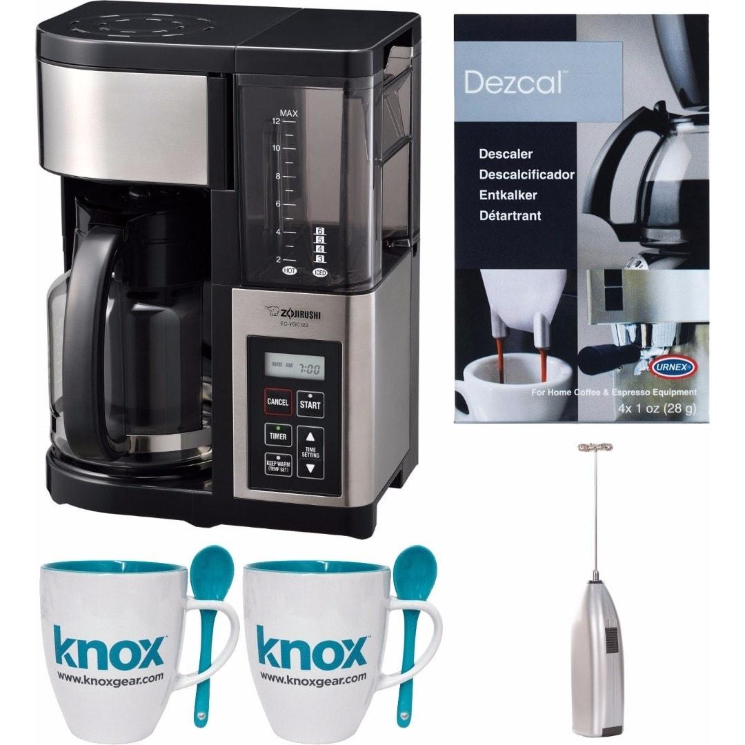 Zojirushi Fresh Brew Plus 12-Cup Coffee Maker w/ Knox Mil...