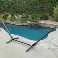 Aspen Wooden Hammock Frame Base (ONLY) by Christopher Knight Home