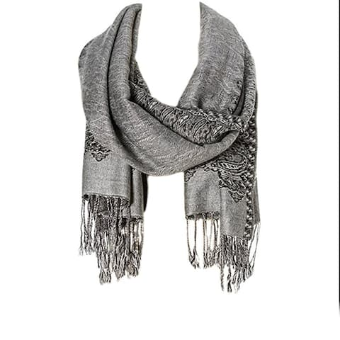 Ladies scarfs Stylish and Fashionable Fringe Scarves High Class Womens Scarf and Pashmina Printed Large Neckerchief Scarves