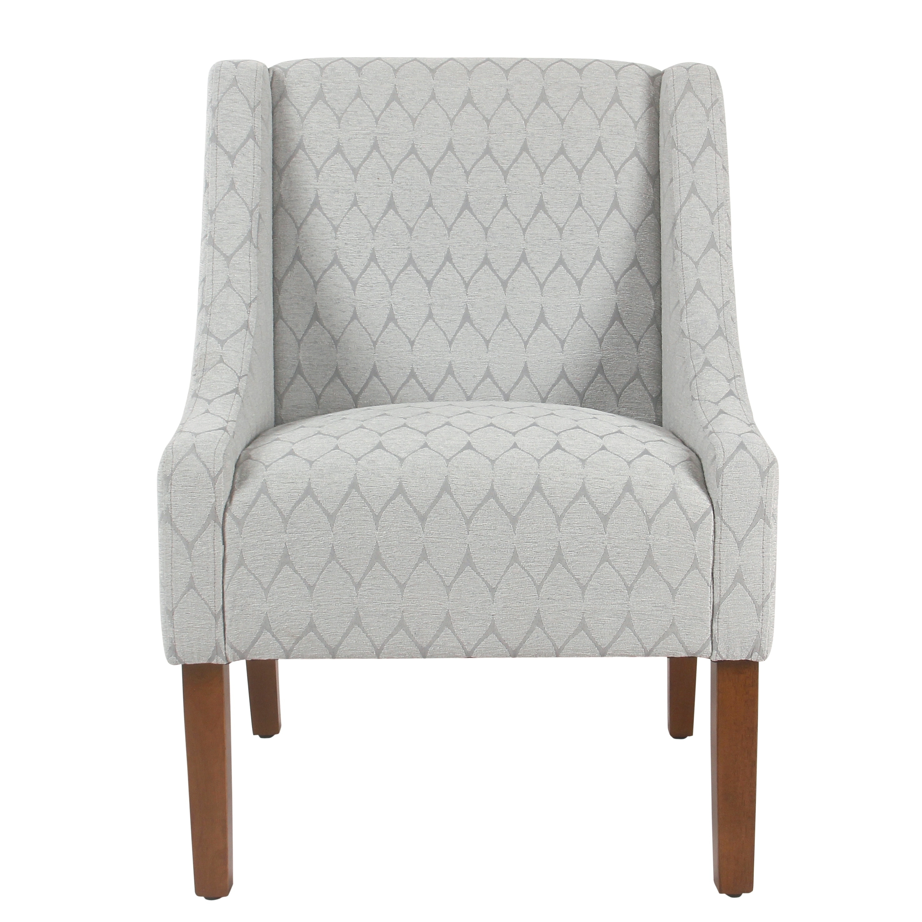 HomePop Modern Swoop Accent Chair (Option: Grey)