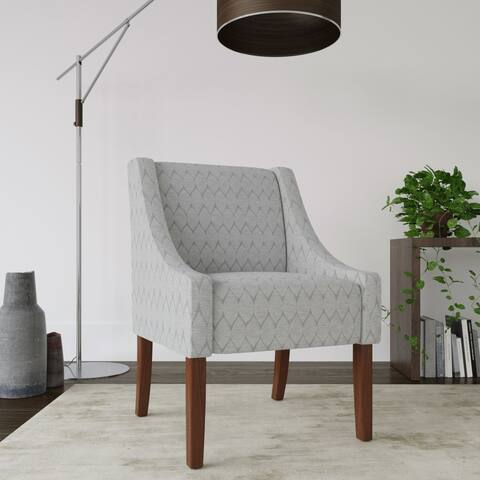 HomePop Modern Swoop Accent Chair