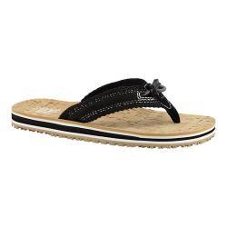 Women's Cudas Cumberland Thong Sandal Black