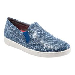 Women's Trotters Americana Slip-On Navy/White Synthetic