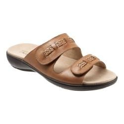 Women's Trotters Kap Slide Luggage Leather