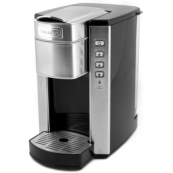 Cuisinart Ss 6 Compact Single Serve Coffee Maker Brushed Stainless Refurbished