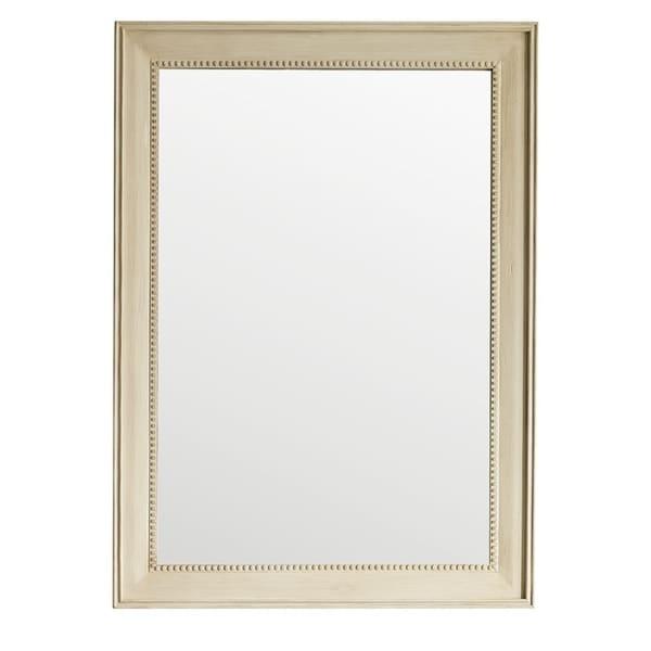 """Bristol 29"""" Rectangular Mirror, Vintage Vanilla - Off White - A/N"""