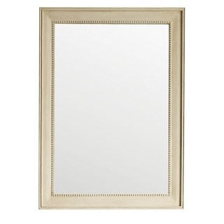 James Martin Furniture Bristol Vintage Vanilla Off White 29-inch Rectangular Mirror