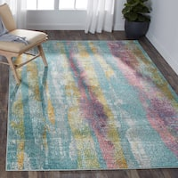 Nourison Passion Grey/Multi Area Rug - Grey - 8' x 10'