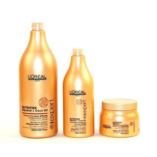 L'Oreal Nutrifier 3-piece Shampoo, Conditioner and Masque