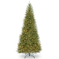 12 ft. Dunhill® Fir Slim Tree with Clear Lights