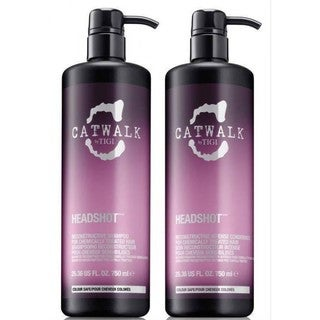 TIGI Catwalk Headshot 25.36-ounce Shampoo & Conditioner Duo