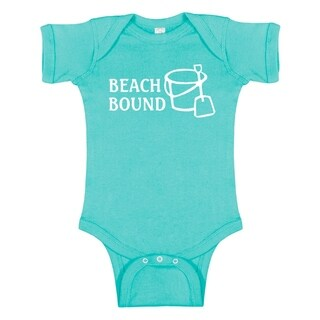 Rocket Bug Beach Bound Baby Bodysuit