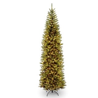 9 ft. Kingswood Fir Pencil Tree with Clear Lights