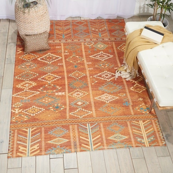 Nourison Madera Sunset Area Rug - 5' x 7'
