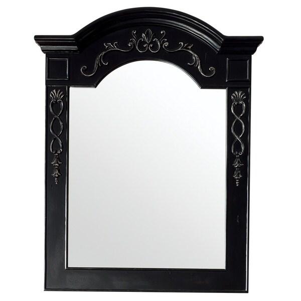 """European Traditions 32"""" Mirror, Empire Black - A/N"""