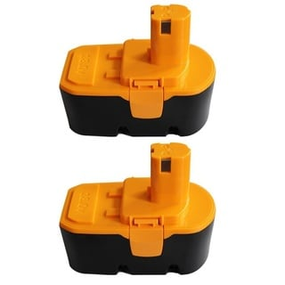 For Ryobi One Plus ONE+ 18V Volt Compact NiCad Battery P100 2 Pack Batteries