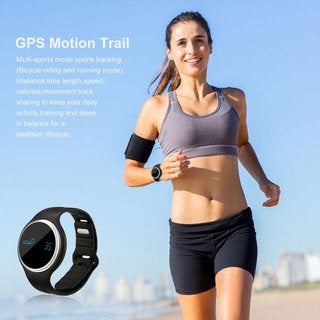 Waterproof Bluetooth 4.0 OLED Display Smart Wristband With Pedometer Watch
