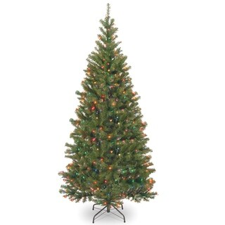 6.5 ft. Aspen Spruce Tree with Multicolor Lights
