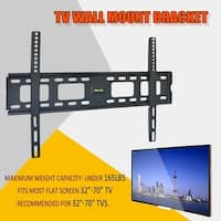 LCD LED Plasma Flat Tilt TV Wall Mount Bracket 32-55 Inch Angle Adjustable