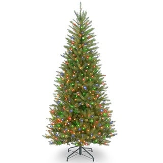 7.5 ft. Dunhill® Fir Slim Tree with Multicolor Lights