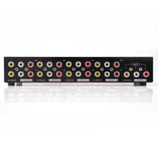 8 Ports Composite RCA Video Audio AV Switch Box Selector 1024x768 Splitter Box