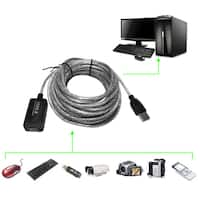 5m USB 2.0 Active Repeater Male to Female Extension Cable Adapter Cord