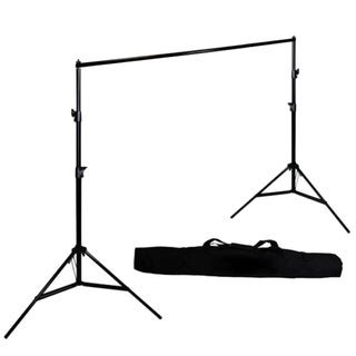 2*3.0m Photography Adjustable Background Support Stand Photo Crossbar Studio
