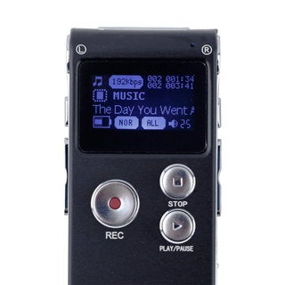 8GB CL-R30 650Hr Digital Voice Recorder Dictaphone with U Disk Function