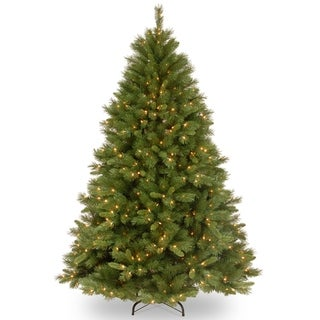 Link to 6.5 ft. Winchester Pine Tree with Clear Lights Similar Items in Christmas Greenery