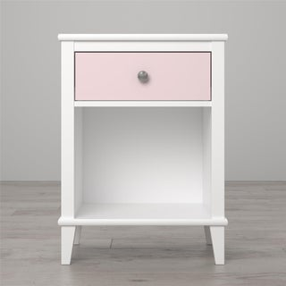 Little Seeds Monarch Hill Poppy Nightstand (Option: White/Pink)