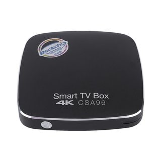 CSA96 H.264-H.265 RK3399 4G+32G Smart TV Box Set-Top Box For Android 6.0