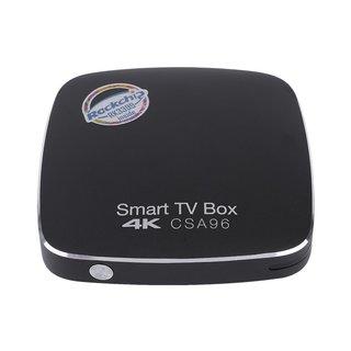 CSA96 H.264-H.265 RK3399 4G+32G Smart TV Box Set-Top Box For Android 6.0