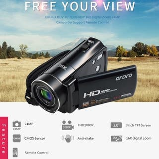 3.0 Inch LCD 1920*1080P 24MP 270 Degree Digital Video Camera Camcorder HDV-V7|https://ak1.ostkcdn.com/images/products/17208554/P23466638.jpg?impolicy=medium