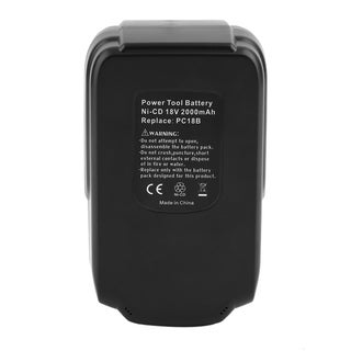 2000mAh High Capacity For PORTER-CABLE PC18B 18-Volt NiCd Cordless Battery