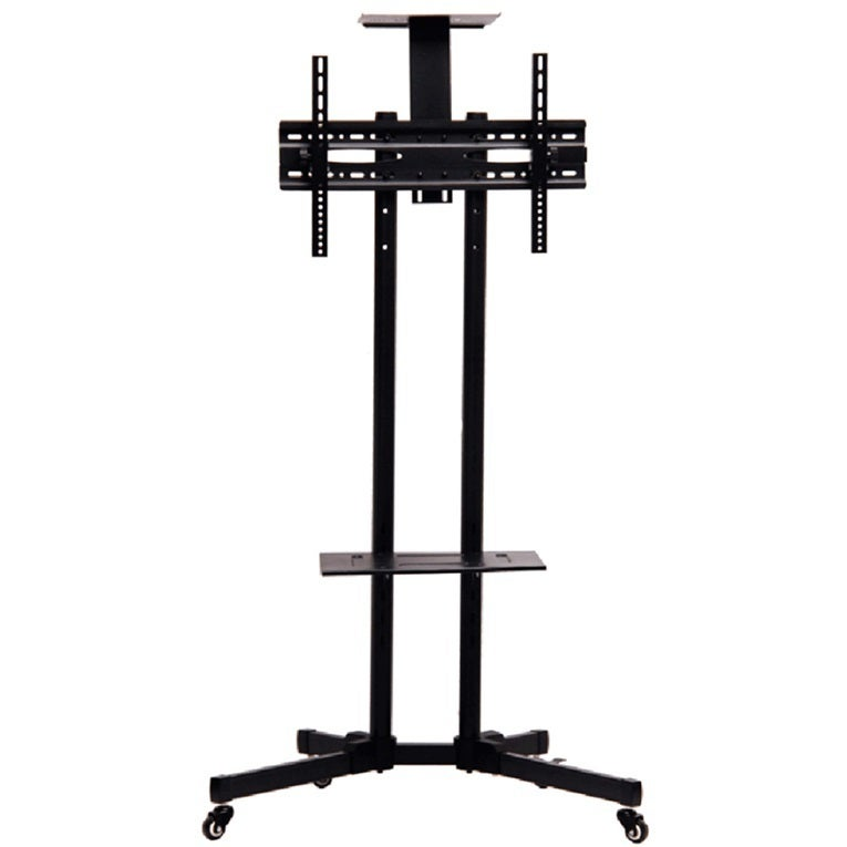TV Mobile Rack Stand with Wheels for LCD LED Plasma Flat ...