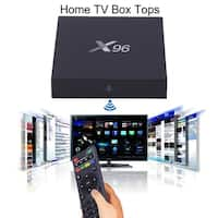 Multifunction Fully Loaded X96-8GB Tv Box 4k Movies Wifi For Android 6.0