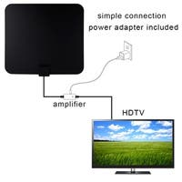 Compact Indoor High Gain HDTV Amplified HD Home TV Signal Aerial Amplifier