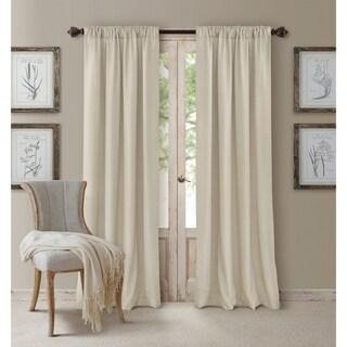 Elrene Cachet 3-in-1 Blackout Energy Efficient Window Curtain Panel