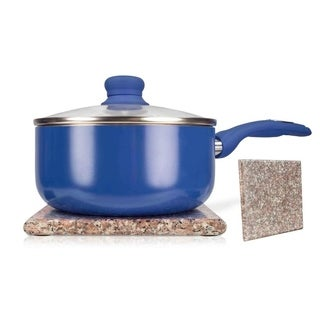 """Sweet Home Collection Brown Granite Trivet (7.75""""x7.75"""")"""