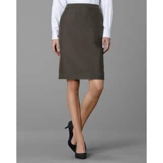 Twin Hill Women's Hudson Skirt Brown Heather|https://ak1.ostkcdn.com/images/products/17211074/P23468987.jpg?impolicy=medium