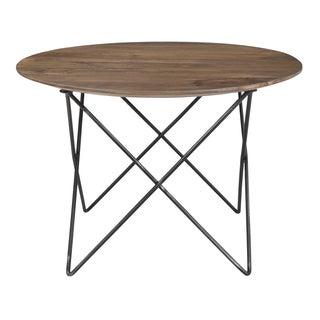 Caribou Dane Vogue Brown Wood/Metal Industrial Patina Cocktail Table