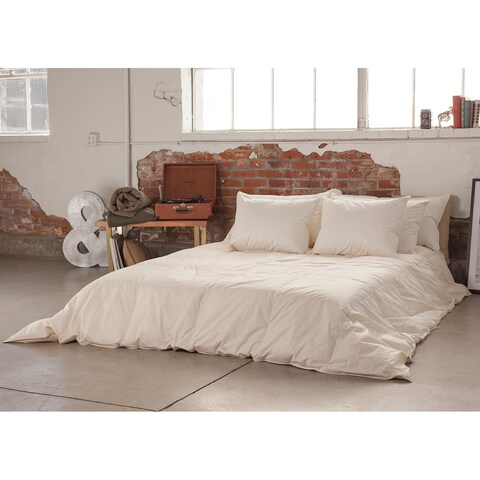 Responsibly Sourced Eco-Friendly Organic 800-Fill Power Warm Hypodown Comforter