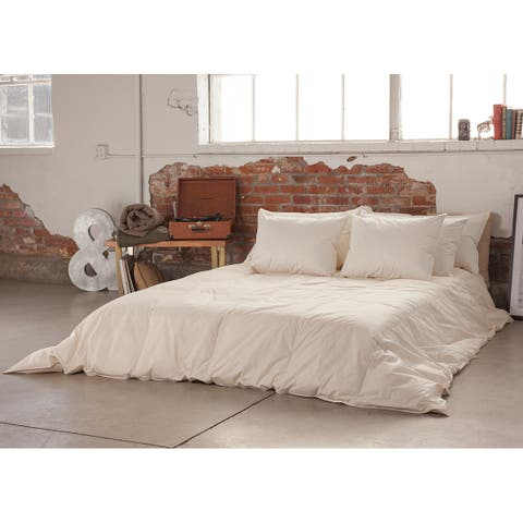 Natural, Breathable 800-Fill Warm Weight Duvet